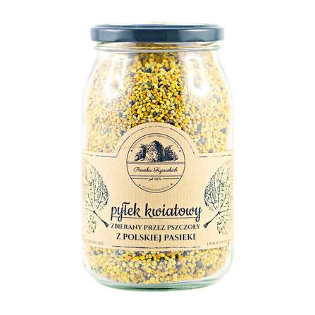 Pyłek kwiatowy 600g Pasieka Fujarskich Czaplinek